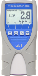 humimeter GE1 screed and concrete moisture meter