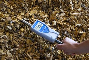 humimeter BLL wood chip moisture meter with insertion probe for determination of water content of wood chips