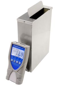The humimeter FS2 grain tester measures water content of grain