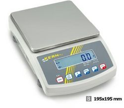 Precision scale 3500 g with a resolution of 0,01 g