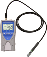 Determine the relative humidity in your room with the pluggable relative humidity sensor and the building moisture meter or determine the water content of floor screed with the hand electrode.