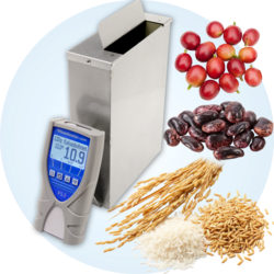 seeds and luxury food moisture tester - humimeter FS3 - for a wide range of products