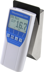 The humimeter FS1 grain moisture tester is a powerful and handy humidity measuring instrument for grain, for determining the water content of many grain types.