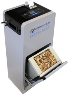 humimeter BMA wood chip moisture meter - Professional moisture meter for determining the water content of biomass