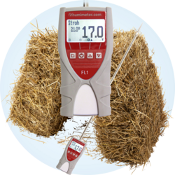 hay and straw moisture tester - humimeter FL1