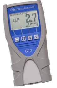 humimeter GF2 Professional building moisture meter for carpenters and interior works for the determination of wall moisture.
