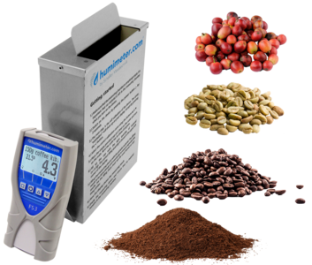 coffee moisture tester - humimeter FS3