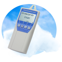 humimeter SW1 mould and air guard