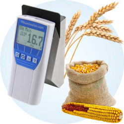 grain moisture tester - humimeter FS1 - quick water content determination