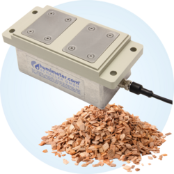 Wood chips moisture transmitter high temperature construction