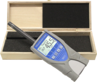 humimeter RH1 thermohygrometer wooden case