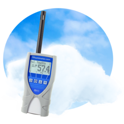 humimeter RH1 relative humidity meter with data log